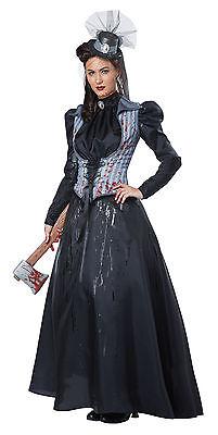 Lizzie Borden Victorian Ax Murder Adult Women Costume  (Lizzie Borden Costume)