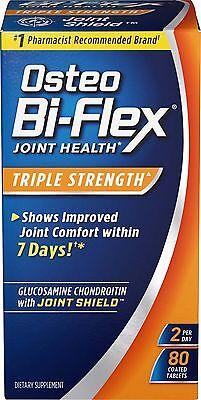 Osteo Bi-Flex Glucosamine Chondroitin Triple Strength, 80 Ta