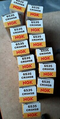 CR5HSB spark Plug NGK x 1, Motorcycle, car, petrol motors, lawnmowers