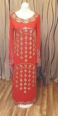 Damen Faschingskostüm/Arabische Kostüm + Schmuck (Kopfschmuck/Hals)   (Rote Kostüm Schmuck)