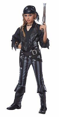 Matey Rebel Pirate Girls Child Costume (Pirate Costumes For Girls)