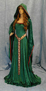 Medieval-Renaissance-dress-pagan-handfasting-ELVEN-custom-made