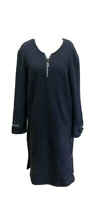 Huishan Zhang Black Knitted Dress