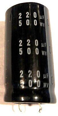 220uf 500v Nichicon Lq 25x50mm 500v220uf Snap-in Capacitor 1 Pcs Quick Ship
