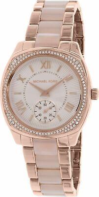 Michael Kors MK6135 Bryn Rose Gold Glitz Wrist Watch for Women