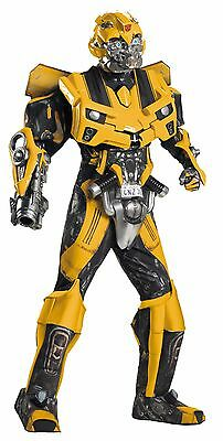 Transformers Bumblebee Costume, Complete Outfit, Adult XL 42-46](Transformer Costume Adult)