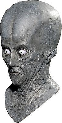Area 51 Halloween (Halloween AREA 51 UFO CREETON RESURRECTION SPACE ALIEN Adult Latex Deluxe)