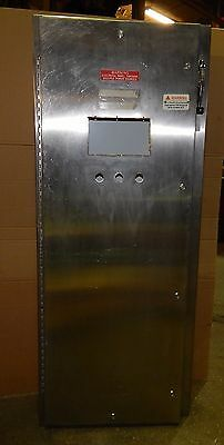 Iec Stainless Steel Enclosure 69x28x10 With Square D Fal34050 Circuit Breaker