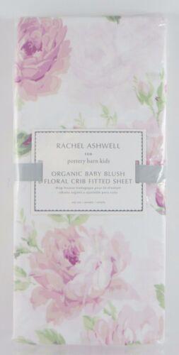 Pottery Barn Kids ~Rachel Ashwell Shabby Chic Baby Blush Floral Crib Sheet~ NWT