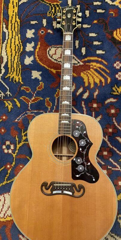 Gibson J-200 Koa 1991 Beautiful & Rare L@@k