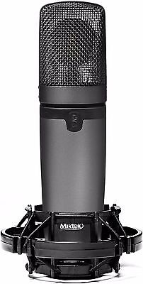 Miktek CV3 Large Diaphragm Multi Pattern Tube Condenser Microphone