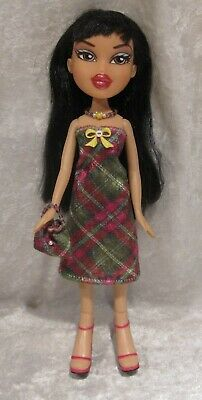 "Made to fit 9½"" BRATZ #17 Dress, Purse & Necklace Set, Handmade Doll Clothes"