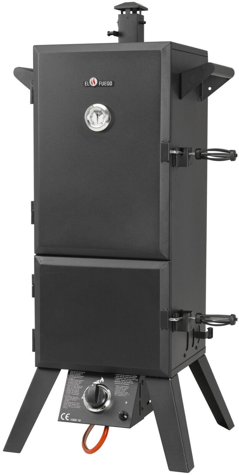 Neu El Fuego® AY 3172 Gasgrill Portland XL, Smoker Räucherturm