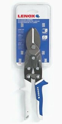 Lenox 5 Blade Sheet Metal Crimper Forged Steel Snips Hvac C5 Model 22209