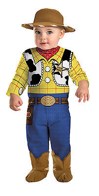 Toy Story Woody Infant Costume Bodysuit Disney Movie Halloween Dress Up - Toy Story Halloween Movie
