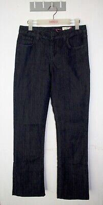 Jag Straight Jeans Size 11 Regular Mid Rise Dark Wash Stretch Denim