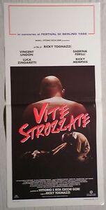 Locandina-VITE-STROZZATE-1-EDIZIONE-ITALIANA1996-VINCENT-LINDON-SABRINA-FERILLI
