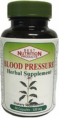 Herbal Supplements Blood Pressure (Blood Pressure Herbal Supplement)