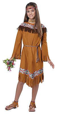 Classic Indian Girl Pocahontas Thanksgiving Child Costume - Childrens Pocahontas Costume