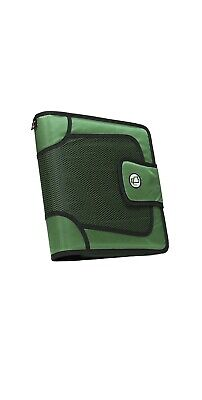 Case-it The Open Tab Binder With Tab File O-ring 2 Inches Green