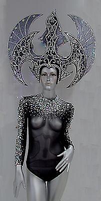 Da NeeNa C070A Queen of War Drag Showgirl Pageant Dance Costume set XS-XL