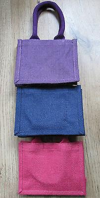 6x plain Small jute bags,6pcs. £9.99, Christmas discount](Discount Tote Bags)