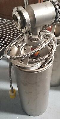 Varian Vacuum Pump 941-6501 With Manual Valve 951-5091