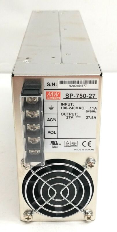 Mean Well SP-750-27 Switching Power Supply 750W 27V 27.8A