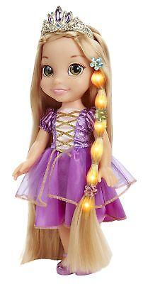 Disney Tangled Glow  Style Rapunzel Toddler Doll