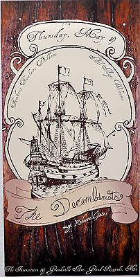 The Decemberists 2006 CONCERT POSTER