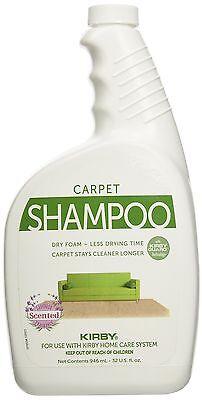 Carpet Shampoo (Kirby 252702 Genuine Allergen Dry Foam Scented Carpet Shampoo 32 oz Quart )