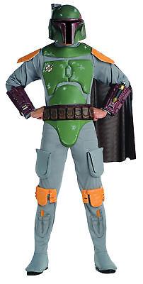 Bobba Fett Deluxe Erwachsene Kostüm Jango Star Wars Film Thema Party Halloween