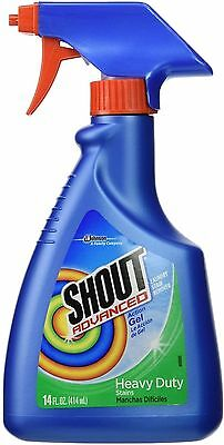 Shout Advanced Gel (Shout Advanced Action Gel Laundry Stain Remover 14 oz (Pack of)
