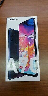 New Samsung Galaxy A70 SM-A705W - 128GB - Black (Unlocked) (Single SIM) (CA)