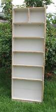 "Tall Solid Timber""distressed look' bookcase Ascot Vale Moonee Valley Preview"