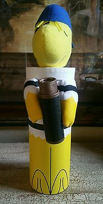 PEANUTS HALLOWEEN WOODSTOCK AS A PIRATE GIFT TUBE GREAT FOR WINE NEW