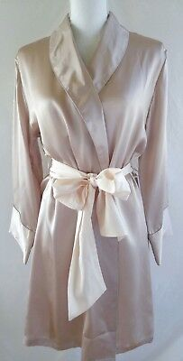 Journelle Coco Blush Silk Robe