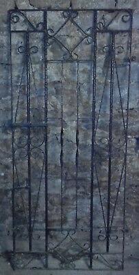Heavy Wrought Iron Gate - 31