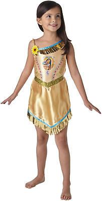 Pocahontas Fairytale Indianerin Disney Kinder Karneval Fasching Kostüm 104-128 ()