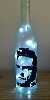 Johnny Cash bottle lamp