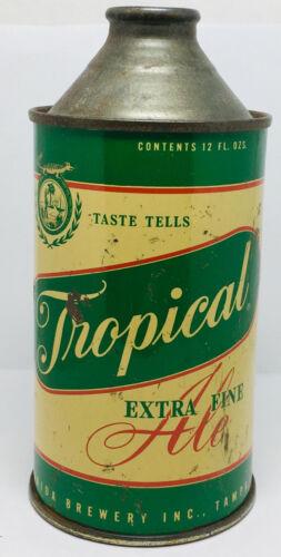 Tropical Ale 12 ounce conetop