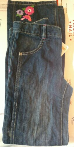 Gymboree girls falling for feathers Jeans size 12 nwt