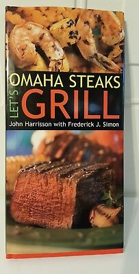 Omaha Steaks   Lets Grill By Omaha Steaks Staff  Frederick J  Simon And John H