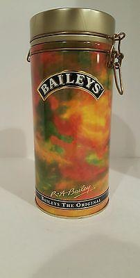 "Bailey's The Original 1994 Irish CreamTin Canister. Produce Of Ireland.10""×6""."