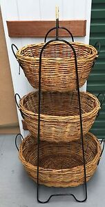 Cane basket storage unit Chatswood Willoughby Area Preview