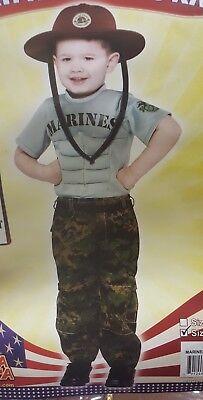 Marines Uniform Toddler Infant Costume Rasta Imposta - Toddler Marine Costume
