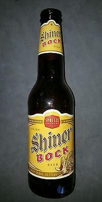 Shiner Bock Beer empty 12oz bottle Spoetzl Brewery Texas TX