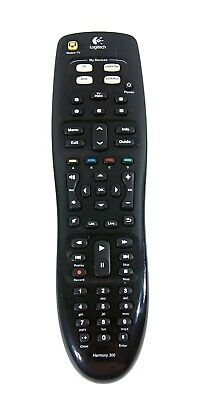 Logitech Harmony 300 Universal Remote Control Programmable Tested and Working