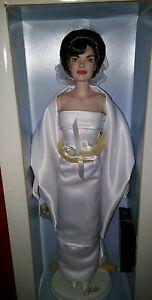 Künstlerpuppe Porträtpuppe Jackie Jacqueline Kennedy Franklin Mint Heirloom Doll