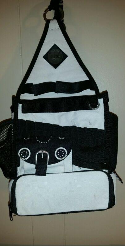 Tote Bag Craft Cool Organization Sewing Knitting Crocheting Scrapbooking Black